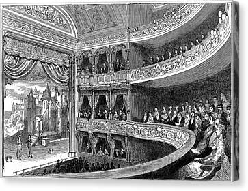 Savoy Theatre Canvas Print by Universal History Archive/uig