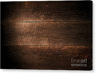 Saw Marks On Wood Canvas Print by Olivier Le Queinec