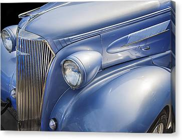 Saweet Chevy 1937 Chevrolet Canvas Print by Rich Franco
