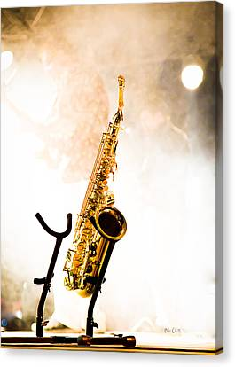 Saxophone  Canvas Print by Bob Orsillo