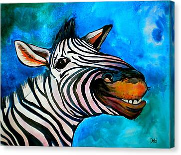 Debi Pople Canvas Print - Say Cheese by Debi Starr