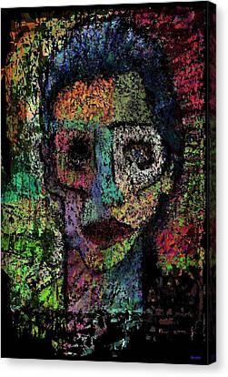 Say Good Nighty To Mr Bitey  Canvas Print by Brett Sixtysix