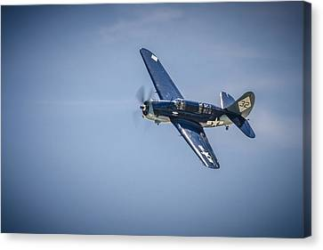 Sb2c Helldiver Canvas Print by Bradley Clay