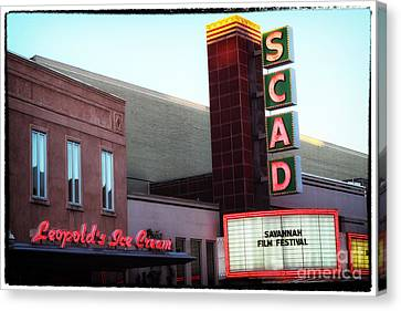 Scad Canvas Print - Scad by John Rizzuto