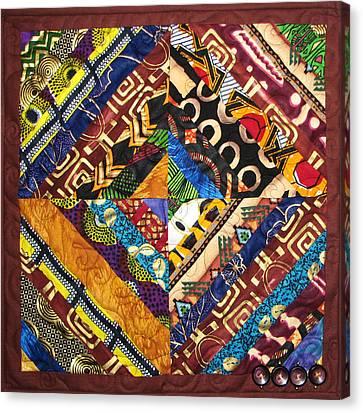 Scandalous Canvas Print by Aisha Lumumba