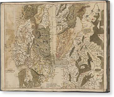 Scandinavia Canvas Print by British Library