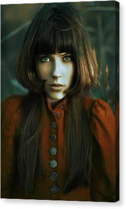 Scarlet Canvas Print by Alexander Kuzmin