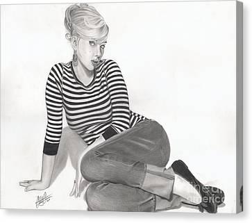 Scarlett Canvas Print
