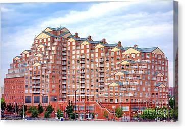 Scarlett Place Baltimore Canvas Print