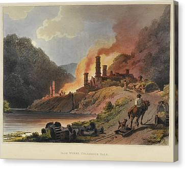 Scenery Of England And Wales Canvas Print by British Library