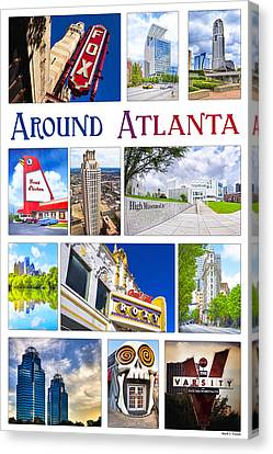 Scenes From Around Atlanta Canvas Print by Mark Tisdale