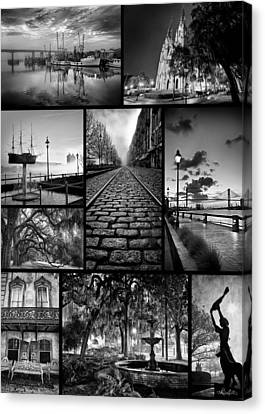 Scenes From Savannah Canvas Print