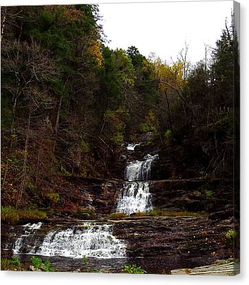 Scenic Kent Falls Canvas Print by Stephen Melcher