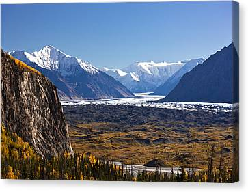 Matanuska Canvas Print - Scenic Of Lions Head Mountain And The by Kevin Smith