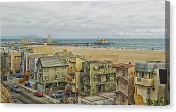 Scenic Santa Monica California Canvas Print