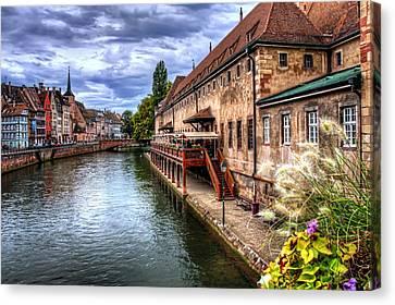 Scenic Strasbourg  Canvas Print