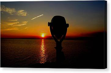 Scenic Sunset Canvas Print by Stephen Melcher