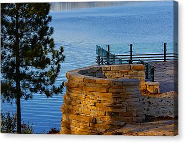 Scenic View Canvas Print by Jp Grace