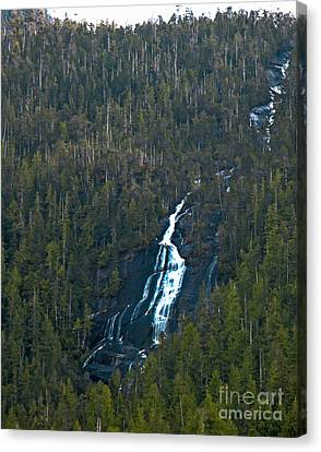 East Cracoft Island Canvas Print - Scenic Waterfall by Robert Bales