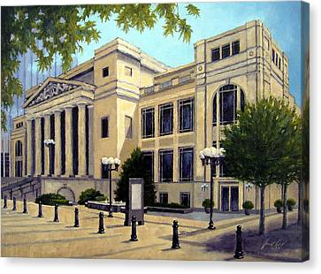 Schermerhorn Symphony Center Canvas Print by Janet King