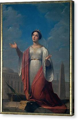 Schiavoni Natale, St Catherine, 1828 Canvas Print by Everett