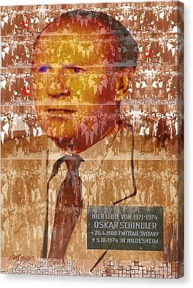 Schindlerjuden Canvas Print by Seth Weaver