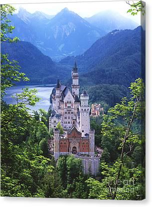 Disneyland Canvas Print - Schloss Neuschwanstein by Timm Chapman