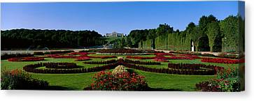 Schonbrun Gardens Vienna Austria Canvas Print by Panoramic Images