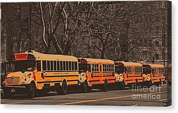 School Canvas Print by Andy Heavens