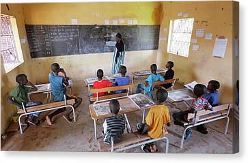 Senegal Canvas Print - School Children by Thierry Berrod, Mona Lisa Production