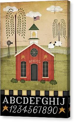 School Canvas Print by Jennifer Pugh