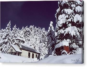 Schoolhouse Canvas Print