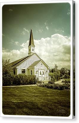 Schram Memorial Chapel Canvas Print by Julie Palencia