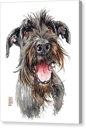 Schultz Canvas Print by Debra Jones