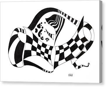 Schumann Buckle Canvas Print