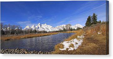 Schwabachers Landing Canvas Print