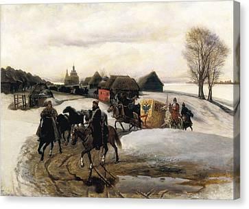 Schwarz, Viatcheslav Grigorievitch Canvas Print by Everett