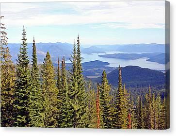 Schweitzer Mountain 7 Canvas Print
