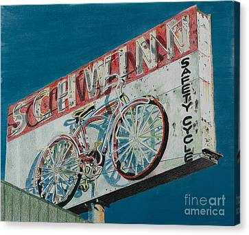 Schwinn Safety Cycle Canvas Print
