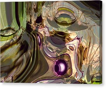 Canvas Print featuring the digital art Sci-fi Fury by Richard Thomas