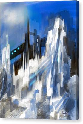 Sci-fice Canvas Print