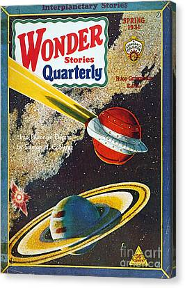 Science Fiction Cover, 1931 Canvas Print by Granger