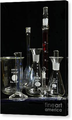 Science Lab Chemistry Canvas Print by Paul Ward