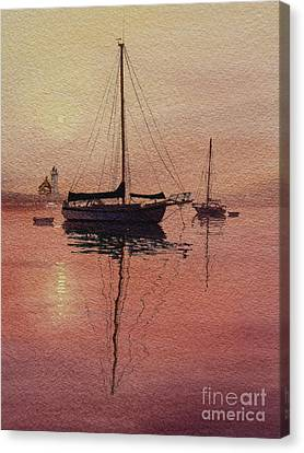 Scituate Serenity Canvas Print by Karol Wyckoff