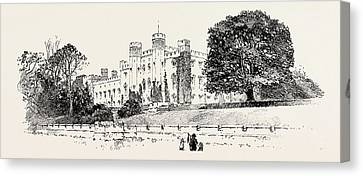 Scone Palace, Perth, Uk. Scone Palace Is A Category Canvas Print by Georgian School