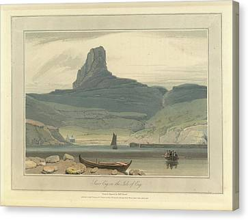 Scoor Eig On The Isle Of Eig Canvas Print by British Library
