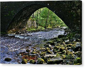 Scotland Bridge Canvas Print
