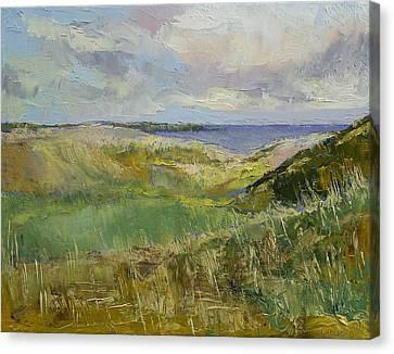 Scotland Landscape Canvas Print by Michael Creese