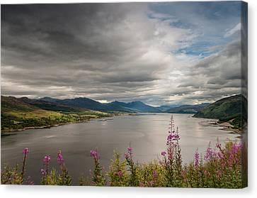 Scotland's Landscape Canvas Print by Sergey Simanovsky