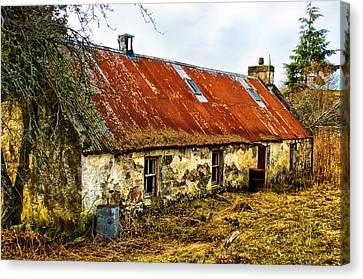 Scottish Highland Croft Canvas Print